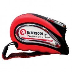 Рулетка 5 мх19 мм Intertool MT-0405