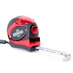 Рулетка 3 мх16 мм Intertool MT-0803